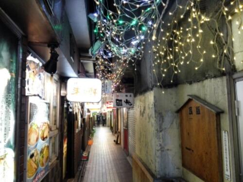Ramen Street in Sapporo