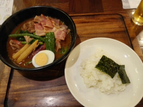 Soup curry in Tokyo