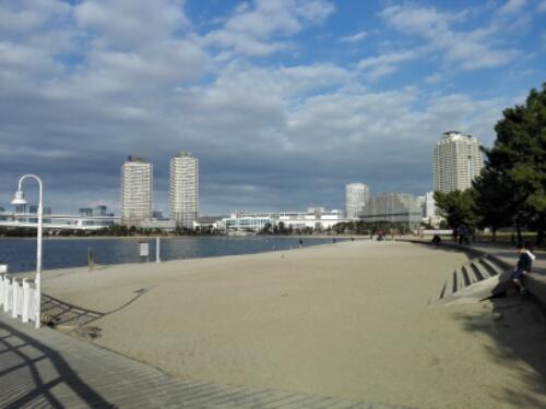 Odaiba beach, Tokyo