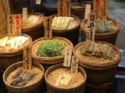 Nikishi Market in Kyoto