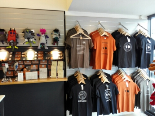 Souvenir shop at Reykjavik Penis Museum