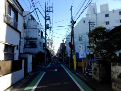 The streets of Shimokitazawa