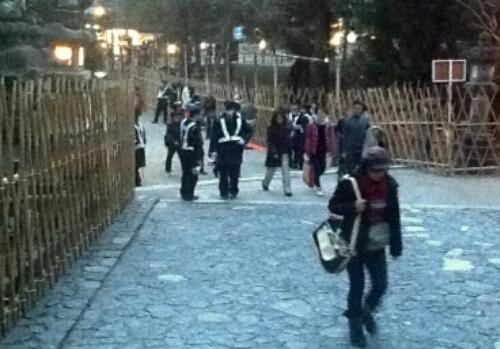 Omizutori. A festival in Nara, Japan's first capital