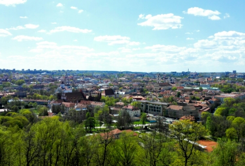 View of Vilnius from Three Crosses