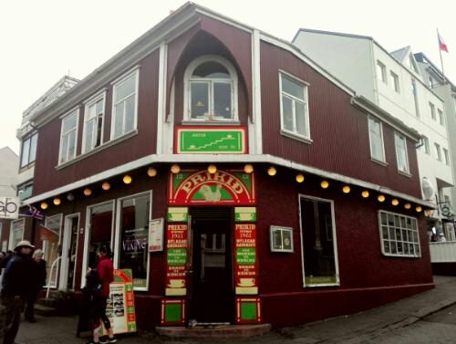 Prikið Café in Reykjavik