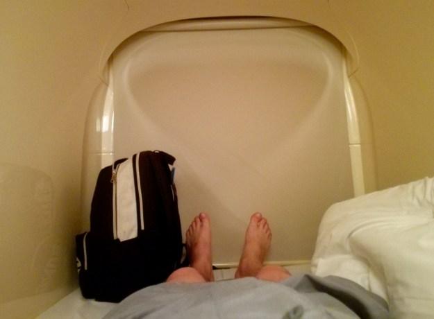 Narita Airport capsule hotel