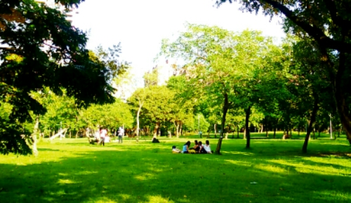 Daan park in Taiwan