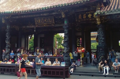 Lungshan Temple in Taipei