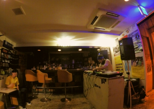 A Party at Output Rock Bar in Naha, Japan