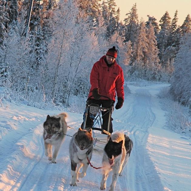 Winter Fun in Finland