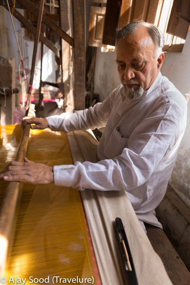 Maqbool Hasan - President's Award Recipient in silk weaving