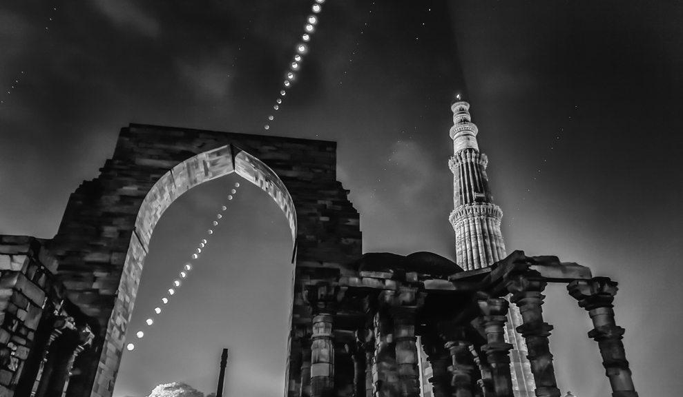Creating A Composite Image - Total Lunar Eclipse