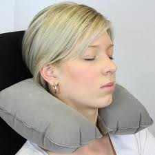 advice neck pillow for long flights