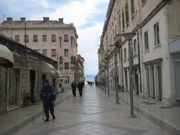 walking around split in croatia
