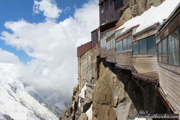 viewing deck - Mont Blanc