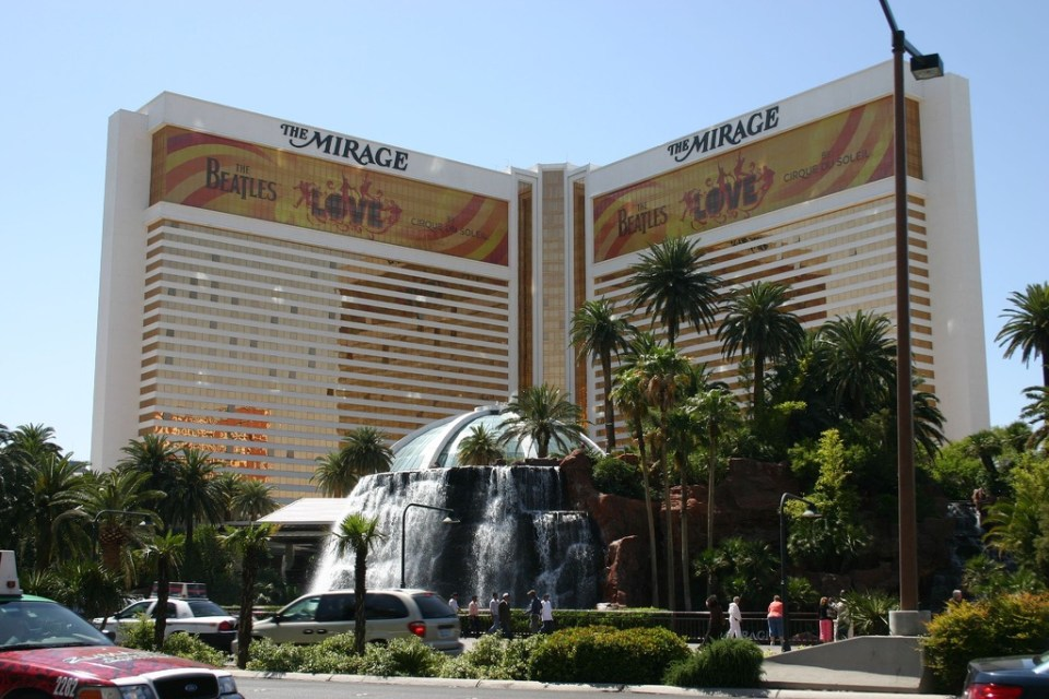 The Mirage - Courtesy - Flickr by Sean Perry