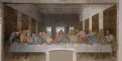 "Santa Maria delle Grazie with ""The Last Supper"""