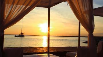 Sunset on Riviera Maya