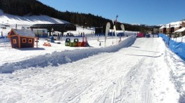 Copper Mountain's Squeal Hill for the little beginners. Photo Credit: Tripp Fay