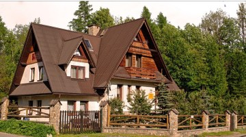 My family's guest house in Zakopane