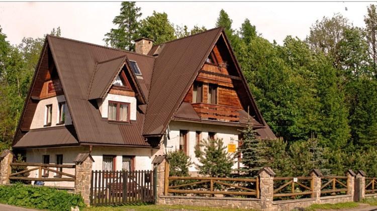 My family's guest house in Zakopane