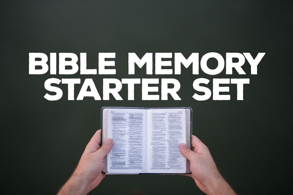 Bible Memory Starter Set