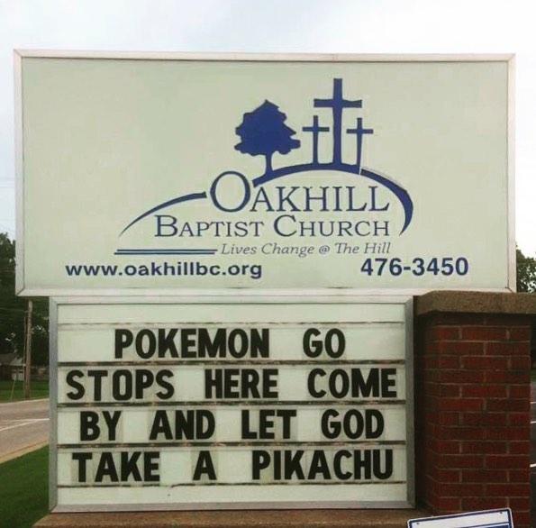 It just won't stop. #churchsigns