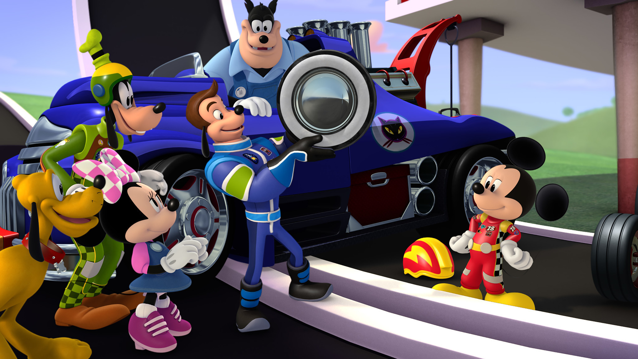 mickey and the roadster racers revs up with a premiere date la times