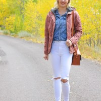 Fall Favorite: Pink Quilted Barbour Jacket