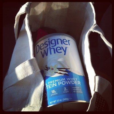 I've loved incorporating Designer Whey into my recovery lately!