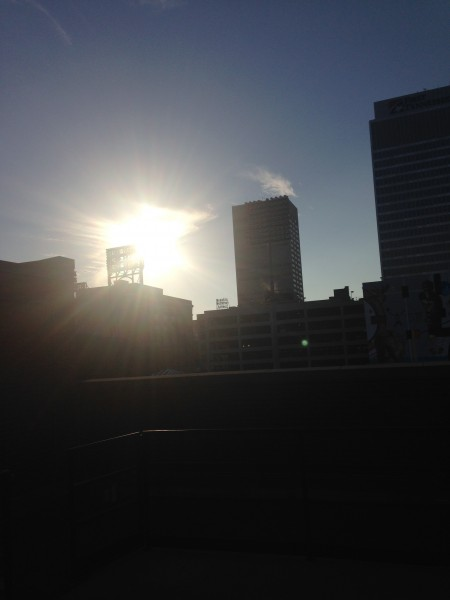 Sunset in Memphis