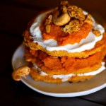 Pumpkin Spiced Granola Pancakes 3