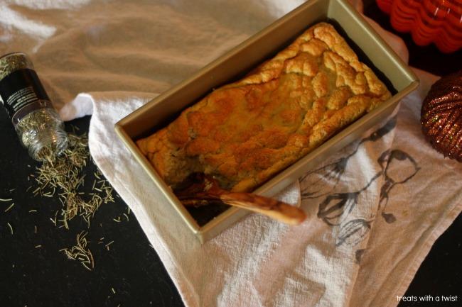 Pumpkin Rosemary Spoon Bread 3