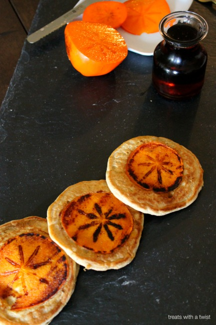 Persimmon Pancakes 1