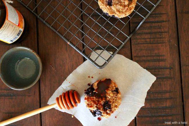 Blueberry Bran Muffins 3