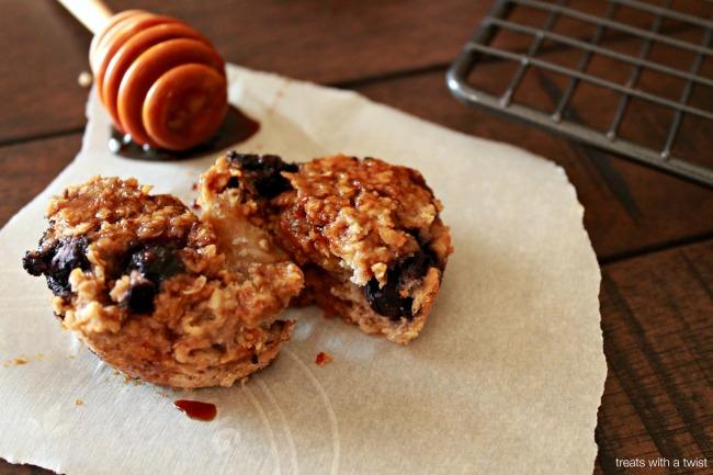 Blueberry Bran Muffins 6