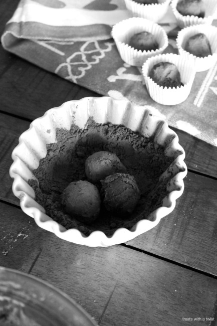 Dark Chocolate Red Wine Truffles BW1