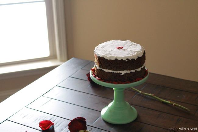 Matcha Goji Cake 2