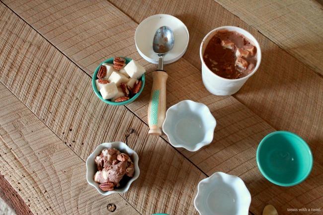 Rocky Road Coconut Milk Ice Cream 3