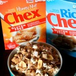 Monkey Munch Chex Mix // treatswithatwist.com // gluten free