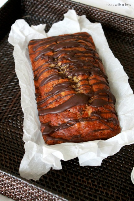 Chocolate chipper banana bread 4