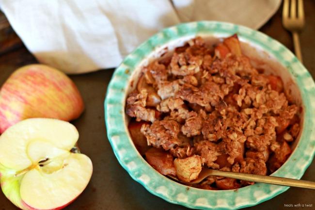 Maple Apple Crisp for Two 2