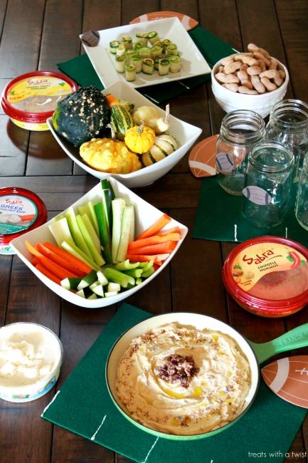 Sabra - Tailgating - Olive Tapanade Hummus Layer Dip 3