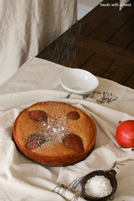 Maple Pear Cake 1