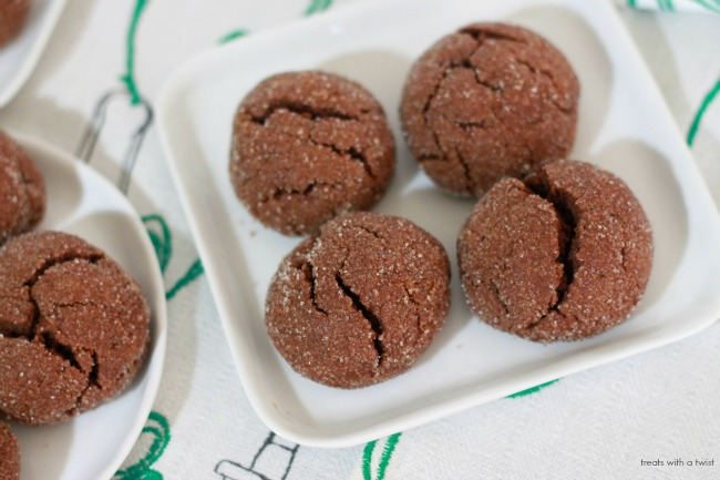 Chocolate Peanut Butter Pillow Cookies 4