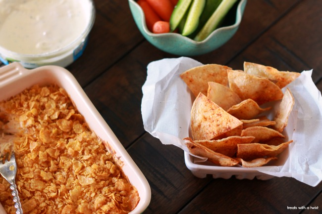 Cheesy Chicken Ranch Dip 5