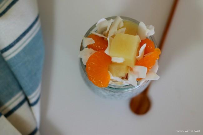 Spring Fruit Salad Chia Pudding 3