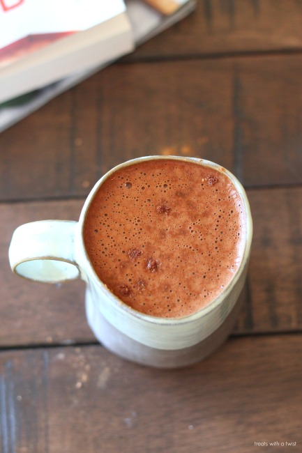 Pumpkin Hot Cocoa // treatswithatwist.com // gluten free, vegan