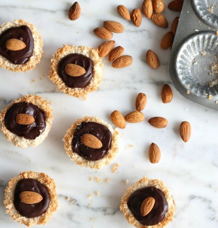 Chocolate Coconut Nests // gluten free // treatswithatwist.com