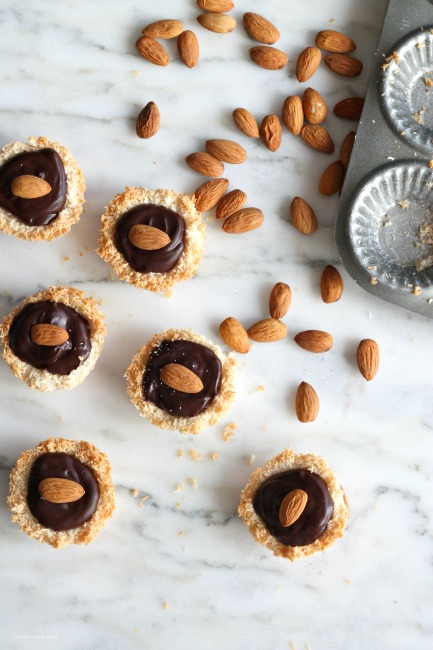 Chocolate Coconut Nests // gluten free // treatswithatwist.com